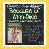 Because of Winn-Dixie Novel Study Unit - Common Core Aligned Literature Guide