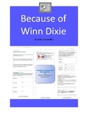 Because of Winn Dixie Complete Literature and Grammar Unit