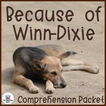 Because of Winn-Dixie Comprehension Activity Packet