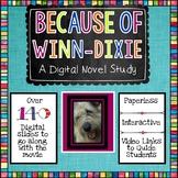 Because of Winn Dixie Digital Novel Study
