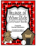 Because of Winn-Dixie Activities: Response Journal, Project Menu, Chapter Titles