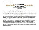 Because of Winn-Dixie - Identifying Similes, Metaphors, an