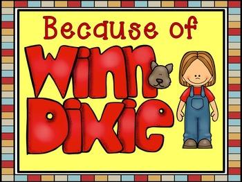Because of Winn-Dixie Imitating Dialogue Printables and Presentation Pack