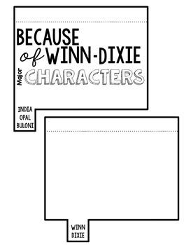 Because of Winn-Dixie Interactive Journal