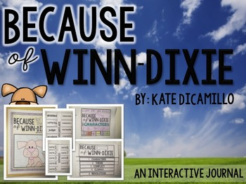 Because of Winn-Dixie Interactive Journal