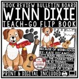 Because of Winn Dixie Novel Study: Flip Book Review Template