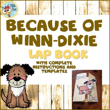 Because of Winn-Dixie Activities with Lap Book
