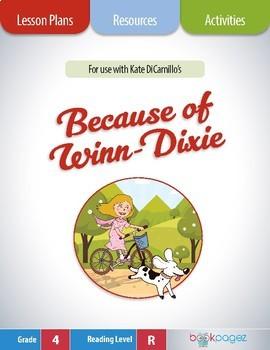 Because of Winn-Dixie Lesson Plan (Book Club Format - Char