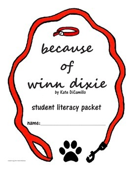 Because of Winn Dixie Literacy Packet