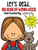 Because of Winn-Dixie Literacy Unit