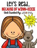 Because of Winn-Dixie Literacy Unit