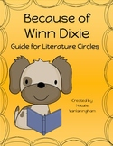 Because of Winn Dixie: Literature Circle Discussion Guide