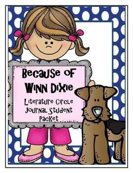 Because of Winn-Dixie Literature Circle Journal Student Packet