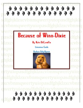 Because of Winn-Dixie Literature Guide