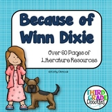 Because of Winn Dixie Literature Resource Kit