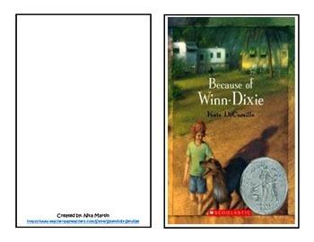 Because of Winn Dixie Literature Study Journal