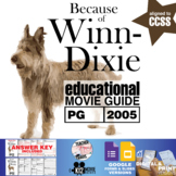 Because of Winn-Dixie Movie Guide | Questions | Worksheet (PG - 2005)