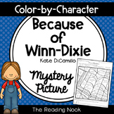 Because of Winn-Dixie Mystery Picture - Color by Character