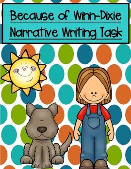 Because of Winn-Dixie Narrative Writing Task