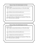Because of Winn-Dixie Night: Exit Ticket