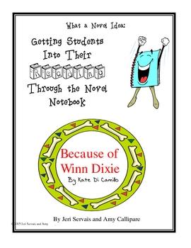 Because of Winn Dixie Novel Guide Unit