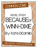 Because of Winn-Dixie - Novel Study