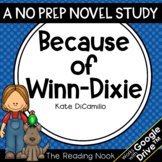 Because of Winn-Dixie Novel Study | Distance Learning | Go