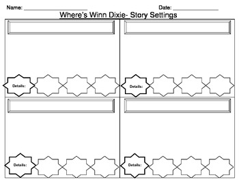 Because of Winn Dixie, Novel Study, Common Core Curriculum