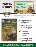 Because of Winn-Dixie {Novel Study & Story Pyramid Book Project}