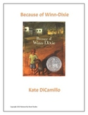 Because of Winn-Dixie Novel Study Teaching Guide
