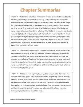 Because of Winn-Dixie Novel Study Teaching Guide
