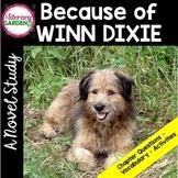 Because of Winn Dixie Novel Unit - Book Study