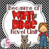 Because of Winn-Dixie Novel Unit