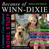Because of Winn-Dixie Novel Study   Distance Learning   As