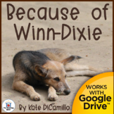 Because of Winn Dixie Novel Study Book Unit Distance Learning