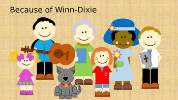 Because of Winn-Dixie Original Clipart