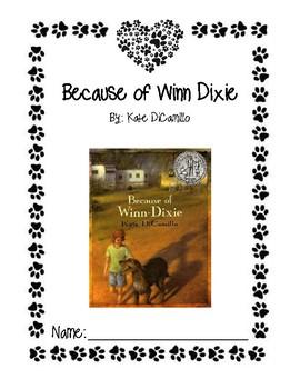 Because of Winn Dixie Packet
