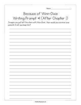 Because of Winn-Dixie (Winn Dixie) Novel Study Bundle