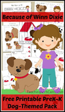 Because of Winn Dixie Preschool Activity Pack / Dog Printa