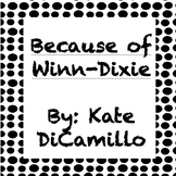 Because of Winn-Dixie Quiz Chapters 1-13