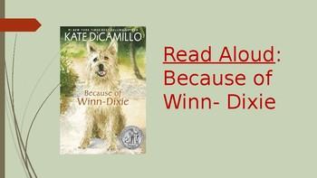 Because of Winn Dixie Read Aloud