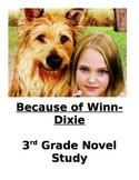 Because of Winn-Dixie Readers Response Journal