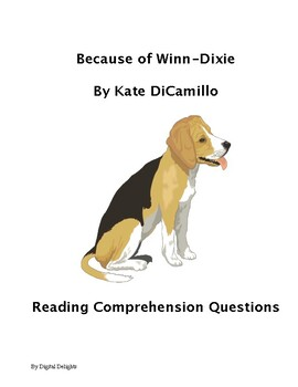 Because of Winn-Dixie Reading Comprehension Questions