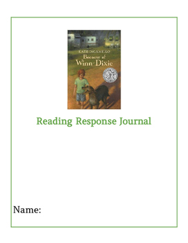Because of Winn-Dixie Response Journal