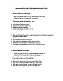 Because of Winn Dixie STAAR Stem Questions CH. 23-24
