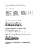 Because of Winn Dixie STAAR Stem Questions Ch. 3-5