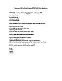 Because of Winn Dixie STAAR Stem Questions Ch. 6-7
