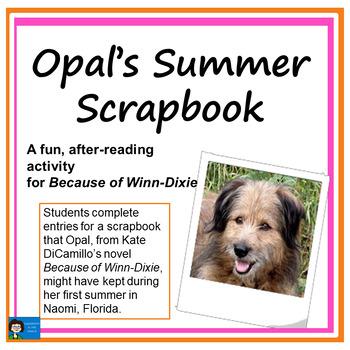 Because of Winn-Dixie Scrapbook Activity