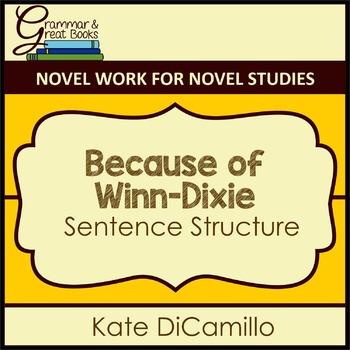 Because of Winn-Dixie: Sentence Structure