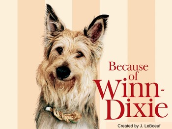 Because of Winn-Dixie: Spelling PowerPoint